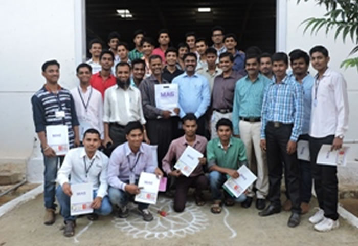 DKTE Society's Textile & Engineering Institute students visit to MAG