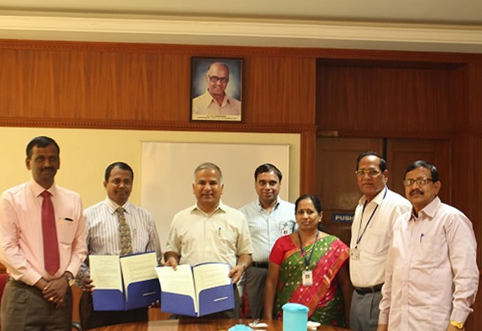 MoU with PSG College of Technology, Coimbatore, India